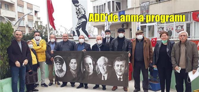 """Tarsus ADD'de """"Demokrasi Şehitleri"""" anıldı"""