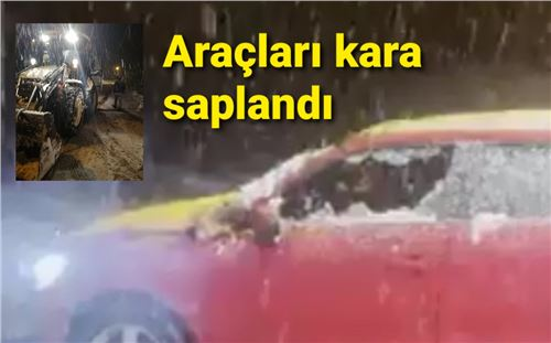 Mersin'de kar'da mahsur kalan 8 kişi kurtarıldı