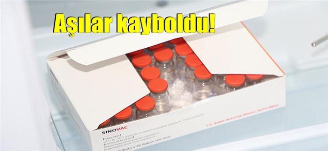Mersin'de 24 doz COVID-19 aşısı kayboldu