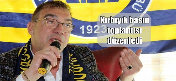 Tarsus İdman Yurdu Başkan Adayı Kırbıyık basın toplantısı düzenledi