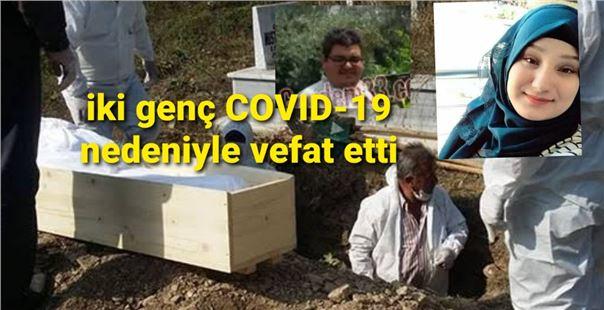 Mersin'de genç yaştaki iki kişi COVID-19 nedeniyle vefat etti