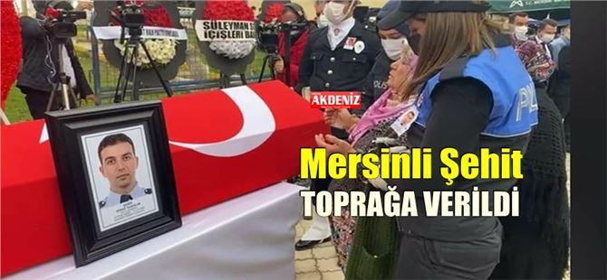 Mersinli Şehit Polis Memuru Sedat Yabalak, son yolculuğuna uğurlandı