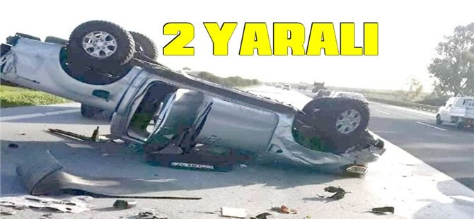 Tarsus'ta kaza: 2 yaralı