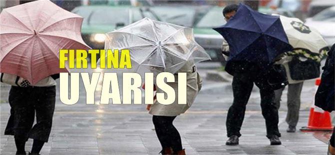 Akdeniz'de kuvvetli fırtına bekleniyor