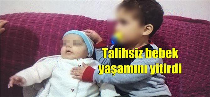 3 aylık bebek kardeşinin altında kalarak boğularak öldü