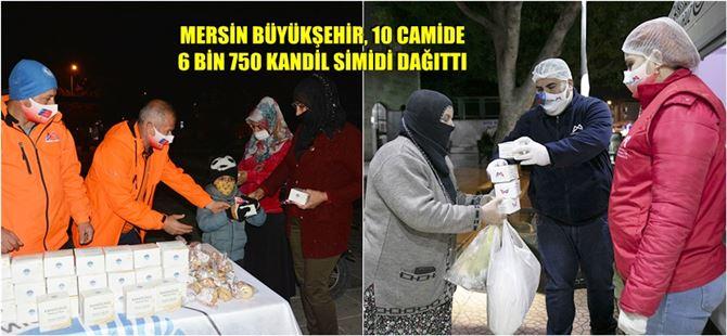 Büyükşehir, Mersinliler'in Regaip Kandilini Kutladı