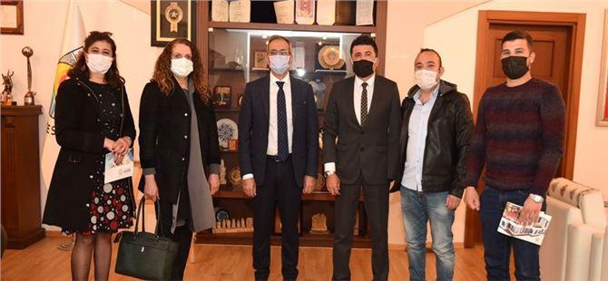 Tarsus OTİZM Derneği, Başkan Bozdoğan'ı ziyaret etti