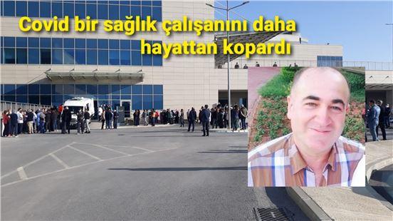 Mersin'de bir sağlık çalışanı daha COVID nedeniyle vefat etti