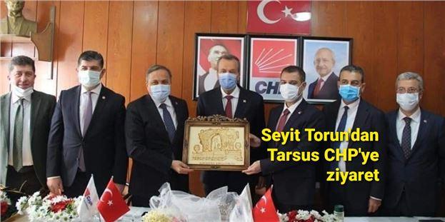 Genel Başkan Yardımcısı Seyit Torun'dan Tarsus CHP'ye ziyaret