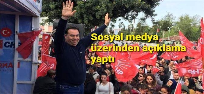 Ali Erhan Okyay, Belediye Başkan Yardımcılığı görevinden alındı