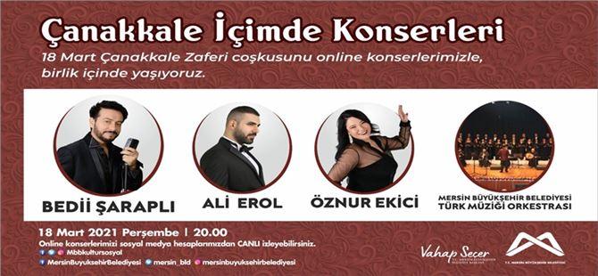 Mersin Büyükşehir, konserler ile evlere konuk oluyor