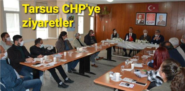 Emek ve Demokrasi Bileşenleri ile Eğitim-iş'den Tarsus CHP'ye ziyaret
