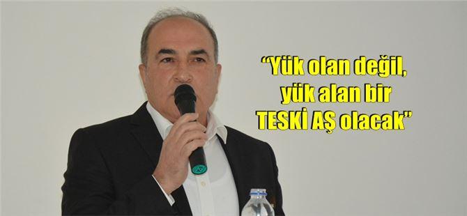 TESKİ Genel Müdürü Özel, ilk basın toplantısını yaptı