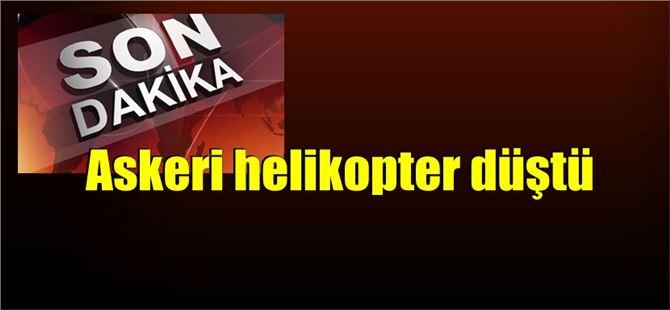Tatvan'da askeri helikopter düştü: 9 Şehit