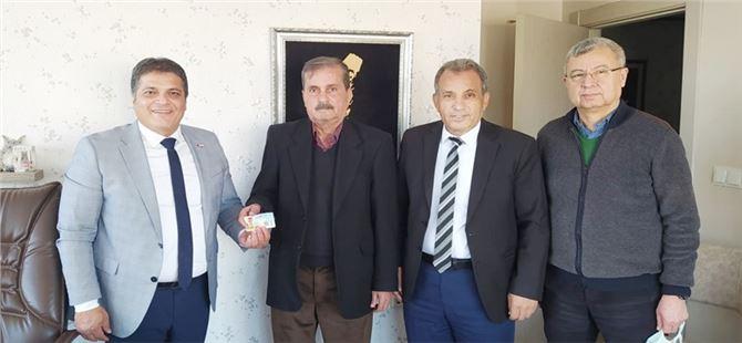 Başkan Tepe'den Akdeniz'e ziyaret