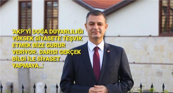 CHP ilçe Başkanı Av. Ozan Varal'dan meclis üyesinin paylaşımına cevap