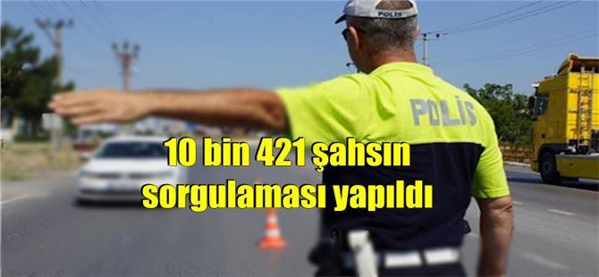 Tarsus'ta 223 aranan şahıs yakalandı