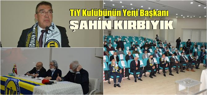 Tarsus İdmanyurdu'nun yeni başkanı Şahin Kırbıyık