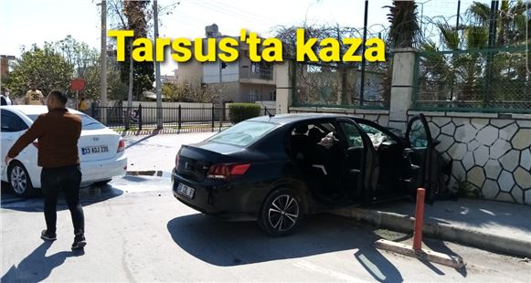 Tarsus kent merkezinde kaza