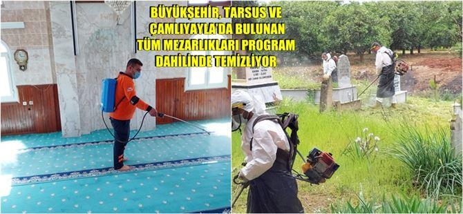 Büyükşehir, cami ve ibadethanelerde dezenfekte çalışmalarına devam ediyor