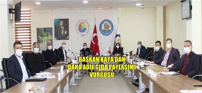 Tarsus Ticaret Borsası Mart Ayı Meclis Olağan toplantısı gerçekleşti.
