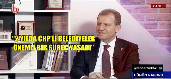 Başkan Vahap Seçer, Halk Tv'de konuştu