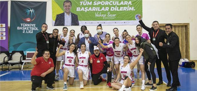 GSK Kadın Basketbol Takımı Çeşme Basketbol'u 93-91'lik Skorla Yendi
