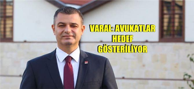 """Av. Ozan Varal: """"Türkiye'de yargı sağlıklı bir biçimde işlemiyor"""""""