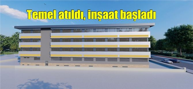 TOBB'un Tarsus'a yapacağı okulun inşaatına başlandı
