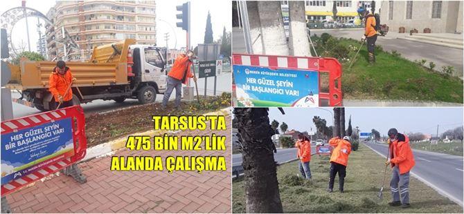 Büyükşehir, Tarsus caddelerini güzelleştiriyor