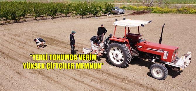 Tarsus Belediyesi'nin yerli tohum atağı hızla yayılıyor