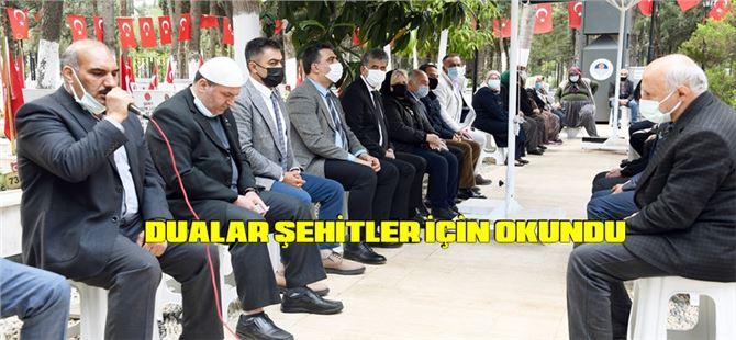 Büyükşehir, Şehitler Haftası'nda Şehitleri Dualarla Andı