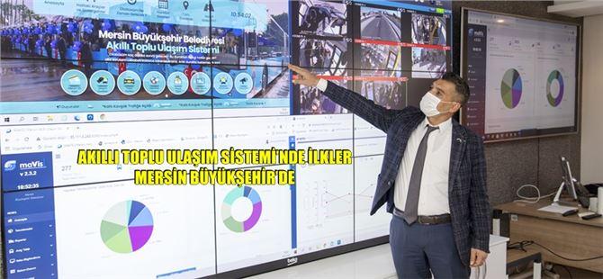 Mersin'de akıllı toplu ulaşım sistemi hayata geçti