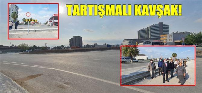"""Tarsus'ta D-400 üzerine yapılan akıllı kavşak """"akılları karıştırdı!"""""""
