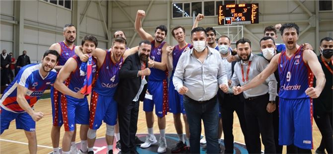 Büyükşehir GSK Erkek Basket Takımı, Etimesgut'u 60-72 Yendi