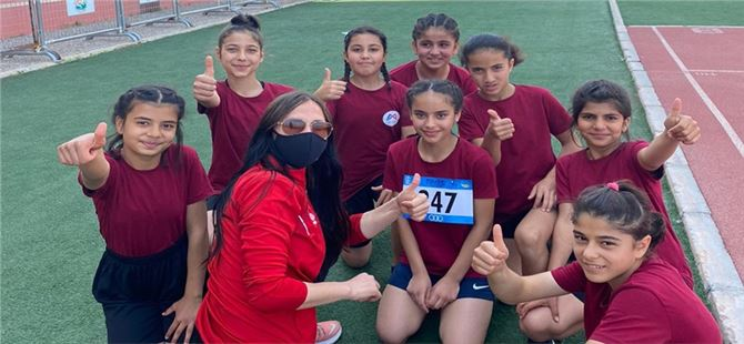 Kır çiçekleri', 6. Taf Turkcell küçükler atletizm festivali'nde ilk üçte