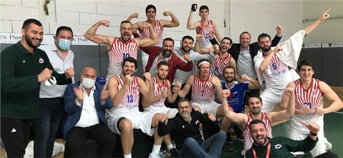 Büyükşehir GSK Erkek Basket Takımı, Türkiye Basketbol 1. Ligi'ne yükseldi