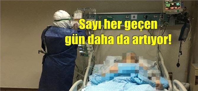 Mersin'de koronavirüs nedeniyle ölen kişi sayısı 2200'e dayandı!