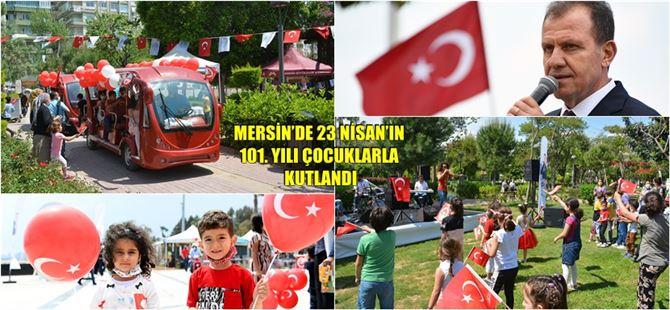 Tarsus'ta da 23 Nisan Coşkusu Çocuk Kahkalarına Karıştı