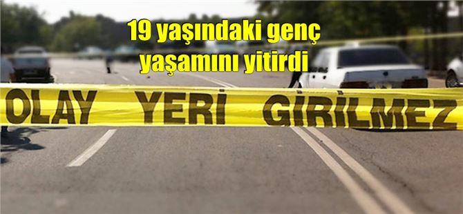 Tarsus'ta takla atan araçta bulunan 3 kişiden 1'i öldü, 2'si yaralandı