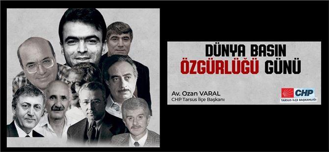"""Varal: """"İktidarın baskıcı politikaları nedeniyle binlerce gazeteci işsiz kaldı"""""""