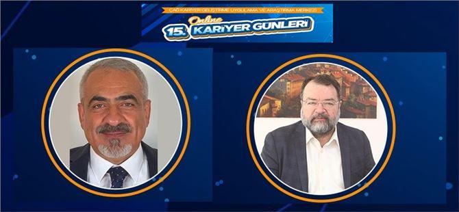 Cengiz Adak ve Önder Ege, kariyer günlerinde konuşmacı olacaklar