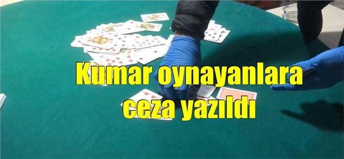 Tarsus'ta kumar oynayan 14 kişiye 44 bin 100 lira ceza yazıldı