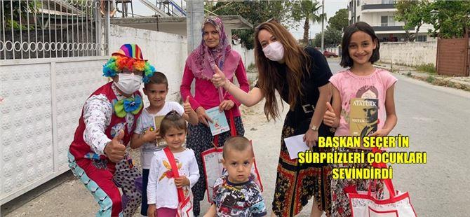 Büyükşehir Belediyesi'nden, Tarsus'ta çocuklar için eğlenceli etkinlikler