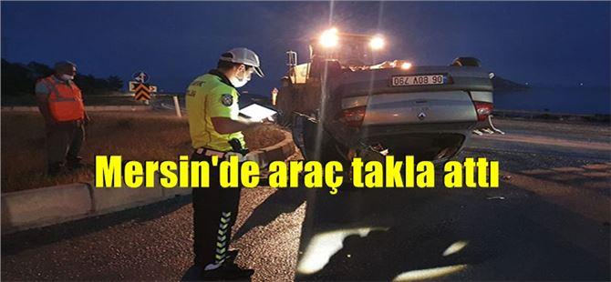 Mersin'de kaza: 2'si çocuk, 4 yaralı