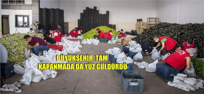"""Ürünler Mersin Büyükşehir Sayesinde """"Heba"""" Olmadı"""