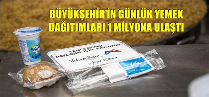 Mersin Büyükşehir, pandemide 1 milyon paket yemek dağıttı
