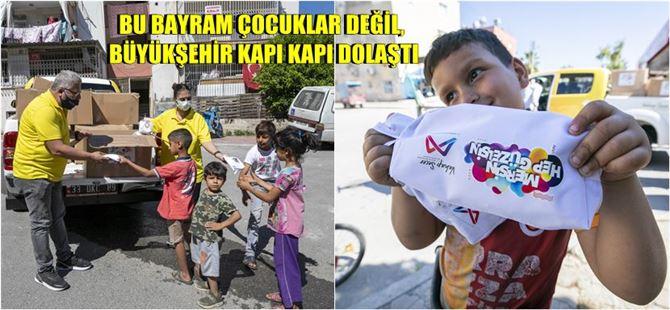 Çocuklar Evde, Büyükşehir'le Bayram Hediyeleri Kapıda