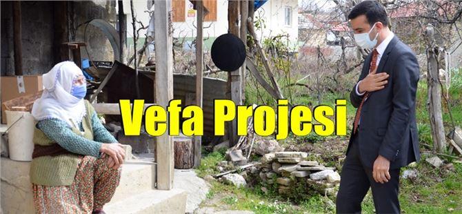 Çamlıyayla Kaymakamı Muhammet Zencirli'den, Vefa Projesi