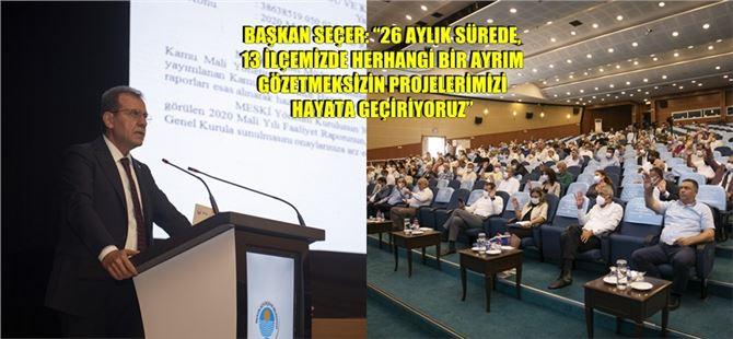 MESKİ Mayıs Ayı Olağan Genel Kurul Toplantısı 1. Birleşimi Yapıldı